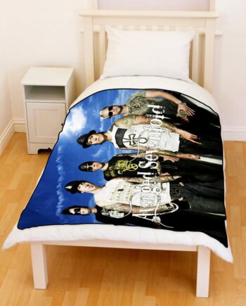 Avenged SevenFold A7X Fleece Throw Blanket