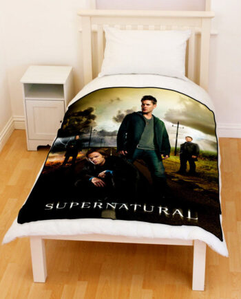 Supernatural Sam Dean Winchester Fleece Blanket