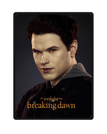 twilight breaking dawn emmett cullen throw fleece blanket
