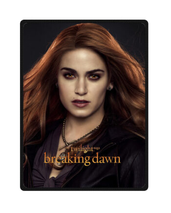 twilight breaking dawn rosalie cullen throw fleece blanket