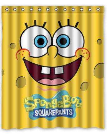 spongebob squarepants shower curtain