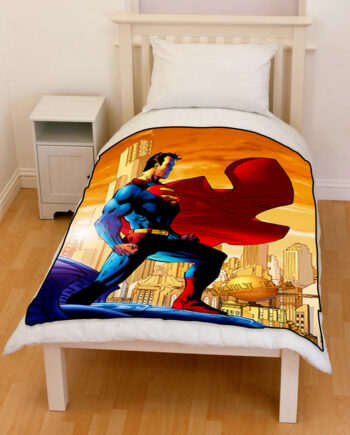 Superman Throw Fleece Blanket