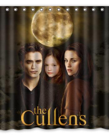 Twilight Edward Bella Renesmee Cullen Shower Curtain 001