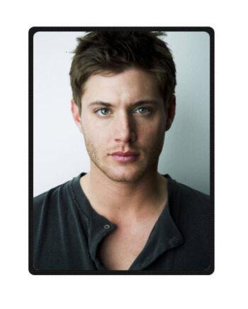 Jensen Ackles Throw Fleece Blanket