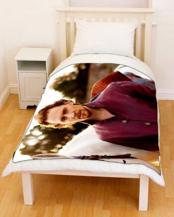 Tom Hiddleston Loki Fleece Throw Blanket