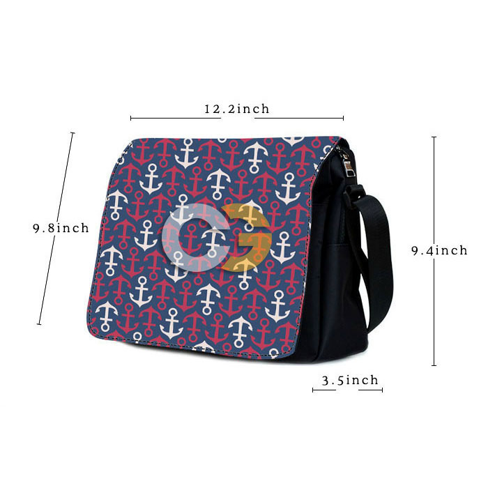creativgoods custom messenger bag