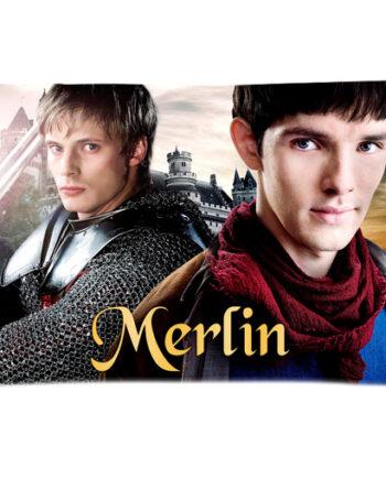 Merlin king arthur pillow case cover