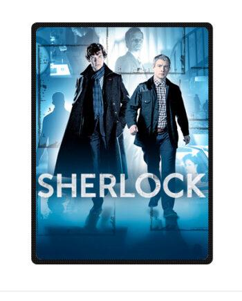 Sherlock Holmes UK Watson throw fleece blanket