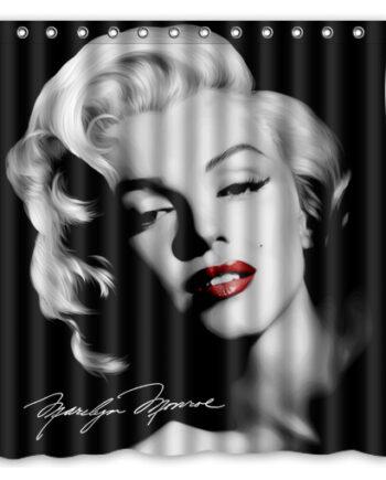 marilyn monroe vintage shower curtain