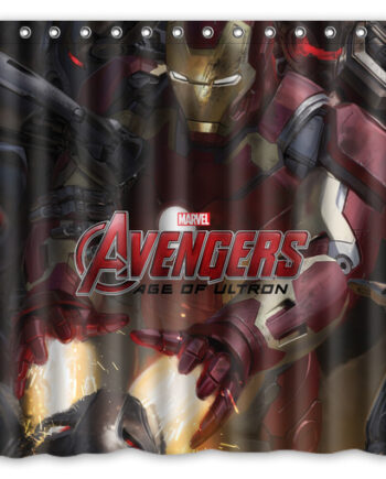 Avengers Age of Ultron shower curtain