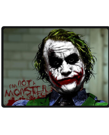 Joker Heath Ledger Batman Dark Knight throw fleece blanket