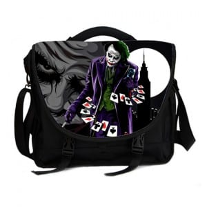 joker why so serious laptop bag