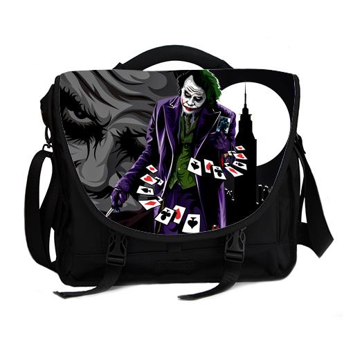 joker why so serious laptop bag
