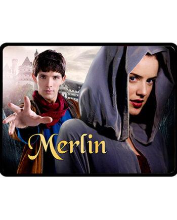 Merlin Nimueh throw fleece blanket
