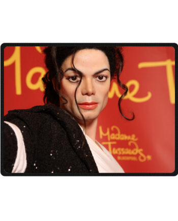 michael jackson madame Tussauds throw fleece blanket