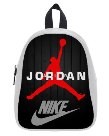michael jordan chicago bulls basketball school bagW