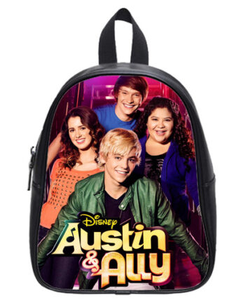 austin and ally school bag black