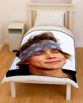 Ashton Irwin 5 seconds of summer 5sos throw fleece blanket