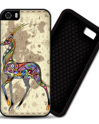 Antelope World Map iPhone 5 / 5S PREMIUM CASE COVER