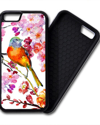 bird flowers iPhone 6 / 6 Plus PREMIUM CASE COVER