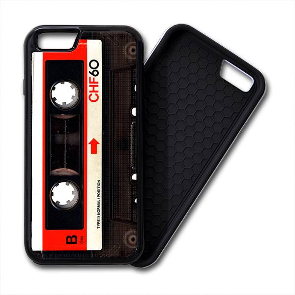 Casette Tape Vintage iPhone PREMIUM CASE COVER