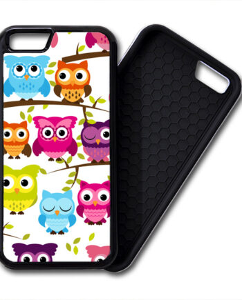 Colorful Owls iPhone 6 / 6 Plus PREMIUM CASE COVER