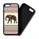 Floral Elephants Aztec Pattern iphone PREMIUM CASE COVER