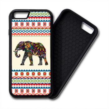 Floral Elephants Aztec Pattern iphone PREMIUM CASE COVER