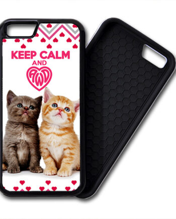 Keep Calm & Love Kittens iPhone 6 / 6 Plus PREMIUM CASE COVER