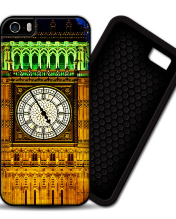 London Big Ben Clock iPhone 5 / 5S PREMIUM CASE COVER