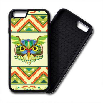 Owls Aztec Geometric Pattern iPhone PREMIUM CASE COVER