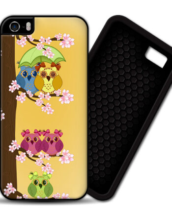 Owls Couples & Single iPhone 5 / 5S PREMIUM CASE COVER