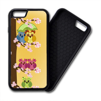 Owls Couples & Single iPhone PREMIUM CASE COVER