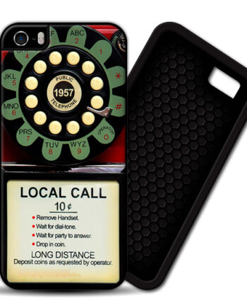 Pay Phone Telephone Vintage iPhone 5 / 5S PREMIUM CASE COVER 001