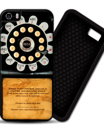 Pay Phone Telephone Vintage iPhone 4 / 4S PREMIUM CASE COVER