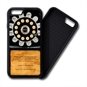 Pay Phone Telephone Vintage iPhone PREMIUM CASE COVER