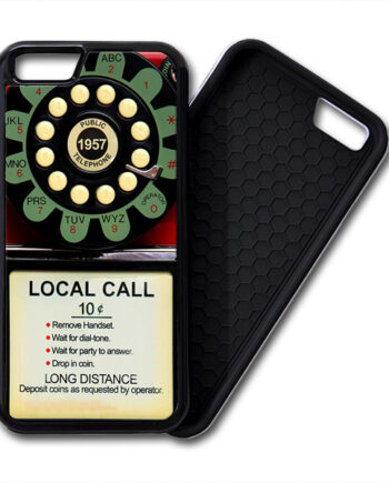 Pay Phone Telephone Vintage iPhone PREMIUM CASE COVER 001