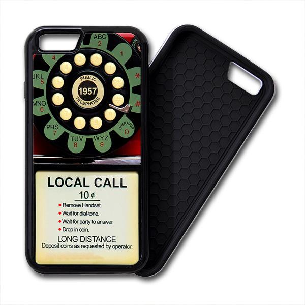 Pay Phone Telephone Vintage iPhone PREMIUM CASE COVER 001