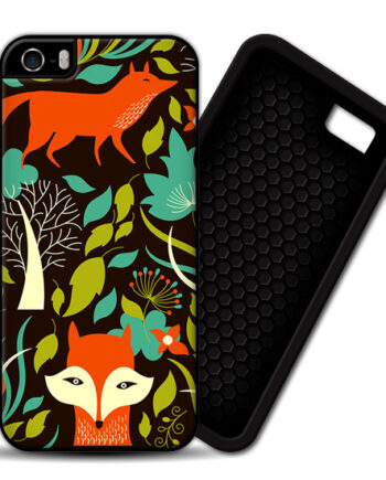 Red Fox Firefox iPhone 5 / 5S PREMIUM CASE COVER