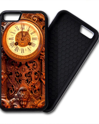 Retro Clock Wood iPhone 6 / 6 Plus PREMIUM CASE COVER