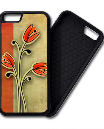 Retro Vintage Flowers iPhone 6 / 6 Plus PREMIUM CASE COVER