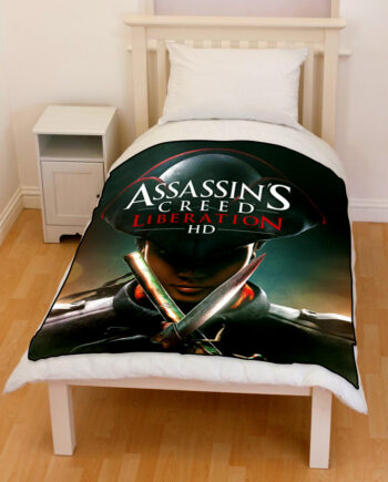 Assassin's Creed Liberation throw fleece blanket
