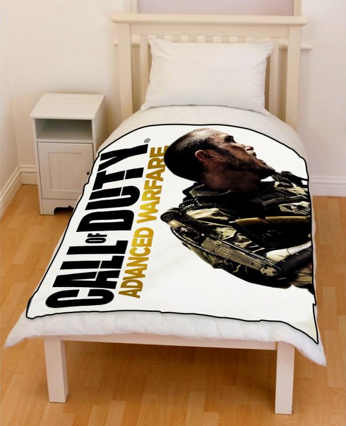 call of duty bedding throw fleece blanket creativgoods