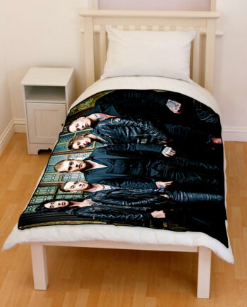 asking alexandria bedding throw fleece blanket