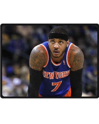 Carmelo Anthony throw fleece blanket