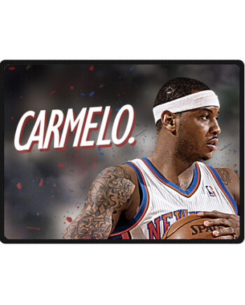 Carmelo Anthony bedding throw fleece blanket
