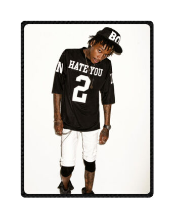 Wiz Khalifa rapper throw fleece blanket