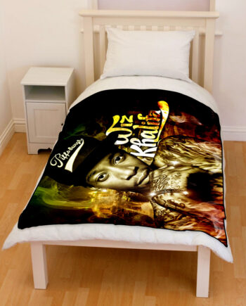 Wiz Khalifa rapper bedding throw fleece blanket