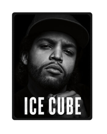 ice cube throw fleece blanket