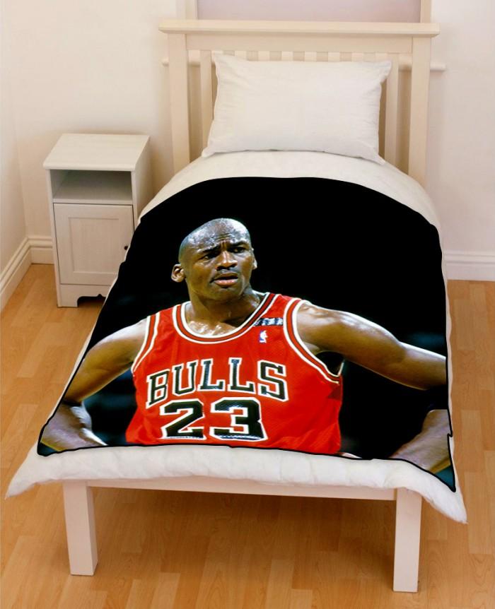 Michael Jordan 23 Bulls Bedding Throw Fleece Blanket